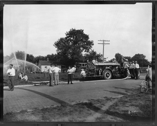 Fire engine, Marysville, Kansas - Page