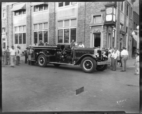 Fire engine, Marysville, Kansas - Page