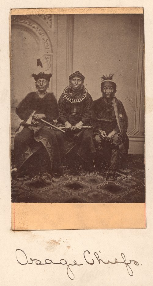 Osage Indian Chiefs - Page