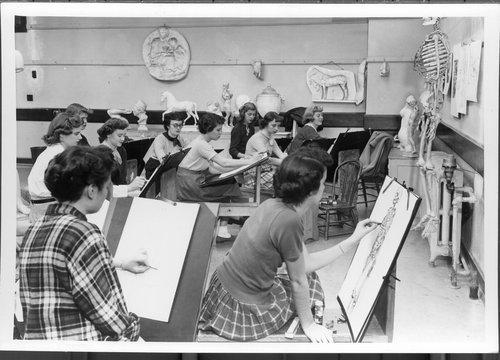 Students at the University of Kansas, Lawrence, Kansas - Page