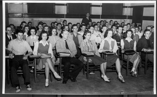 Students at the Unviersity of Kansas, Lawrence, Kansas - Page