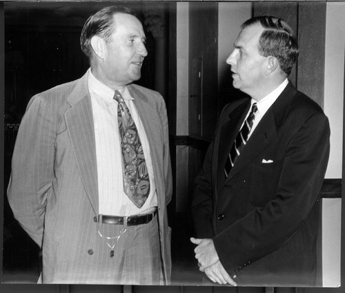 Franklin D. Murphy and Dean J.A. Nelson - Page