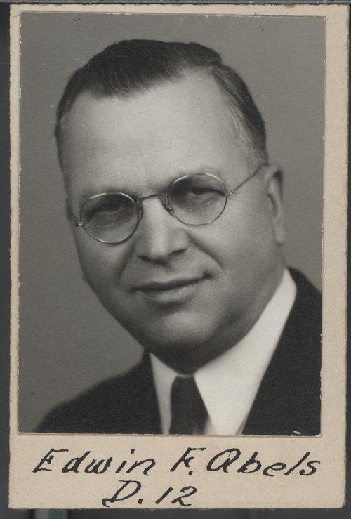 Edwin F. Abels - Page