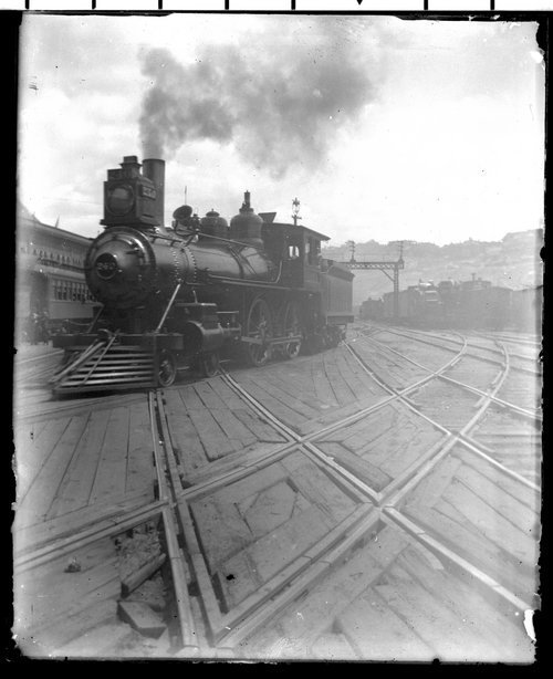 Atchison, Topeka & Santa Fe Railway Company's steam locomotive #240 - Page
