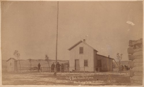 Chief Red Cloud's home, Pine Ridge, South Dakota - Page
