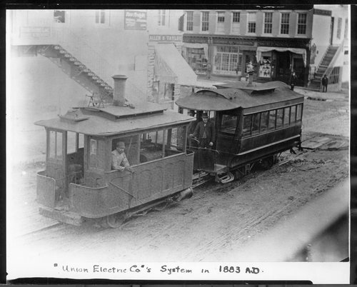Union Electric trains, Lawrence, Kansas - Page