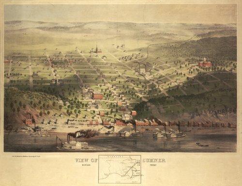 Sumner, Kansas Territory, 1858