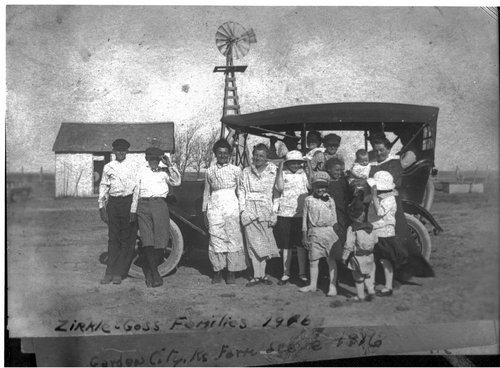 The Zirkle and Goss families, Finney County, Kansas - Page