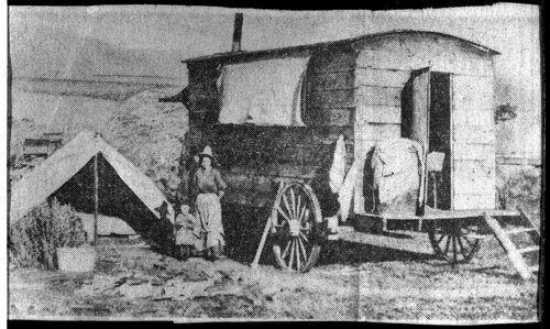 School in a chuck wagon, Finney County, Kansas - Page