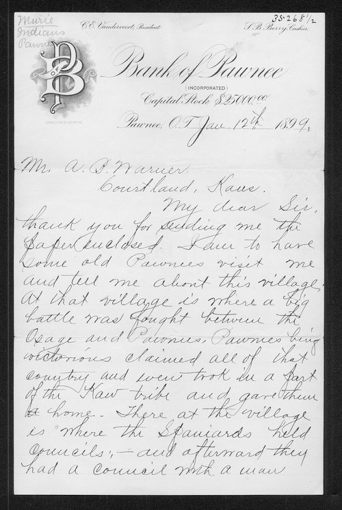 James R. Murie correspondence - Page