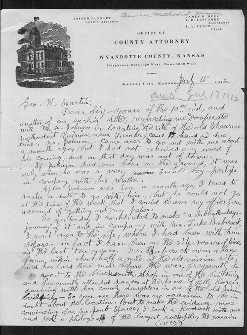 Emanuel F. Heisler correspondence - Page