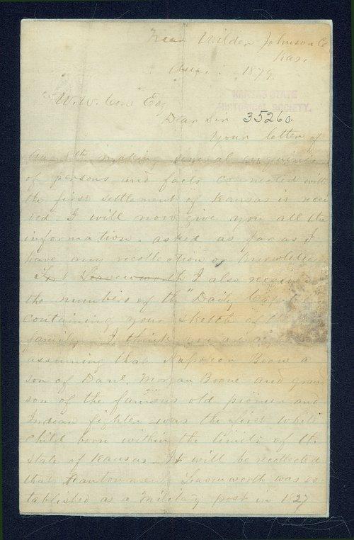 J.C. McCoy to W.W. Cone - Page