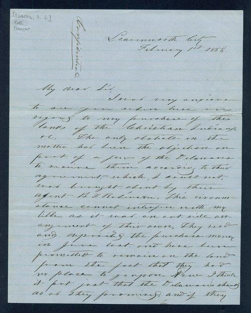 Andrew Jackson Isacks to General James William Denver - Page