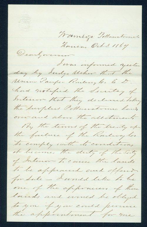 Hugh S. Walsh to James William Denver - Page