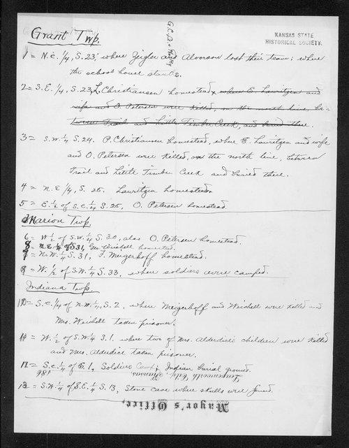 C. Bernhardt to George W. Martin - Page
