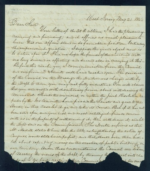 William Walker to John M. Armstrong - Page