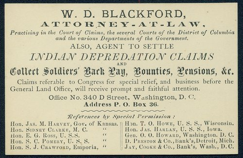 W.D. Blackford, Attorney-at-Law - Page