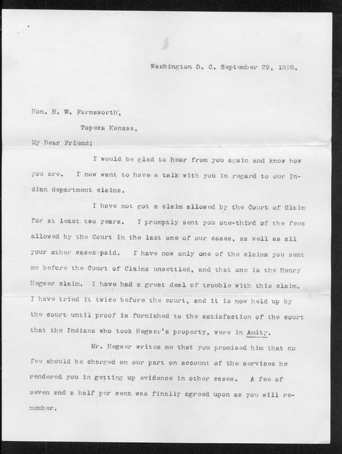 William D. Blackford to H.W. Farnsworth - Page