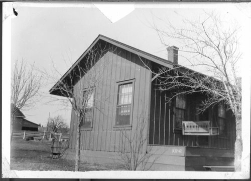 Gulf, Colorado & Santa Fe Railway Section House, Krum, Texas - Page