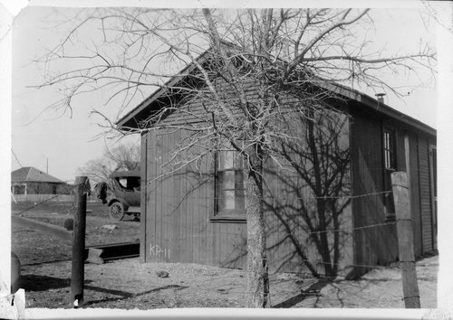 Gulf, Colorado & Santa Fe Railway Bunk House, Krum, Texas - Page