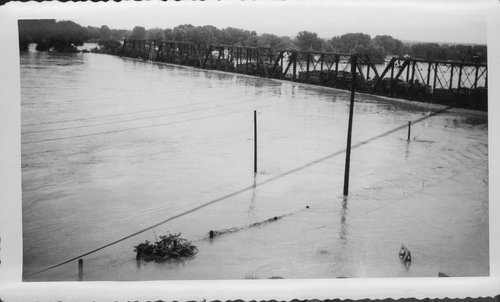 Flooding on the Kansas River, Topeka, Kansas - Page