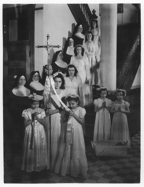 Reception at the Nazareth Convent, Concordia, Kansas - Page