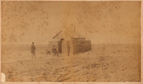 H.F. Millikan's sod house in Finney County, Kansas - Page