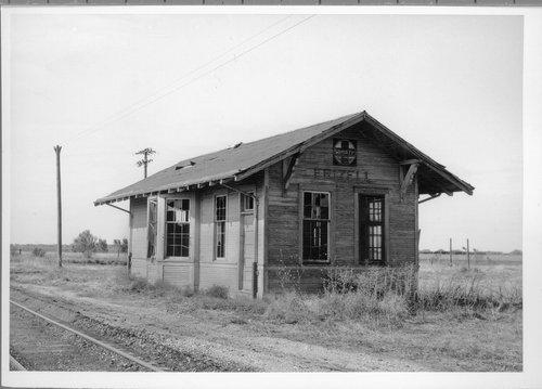 Atchison Topeka & Santa Fe Railway Company depot, Frizell City, Kansas - Page
