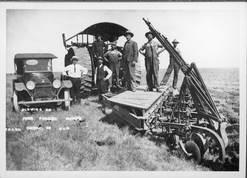Plowing scene, Finney County, Kansas - Page