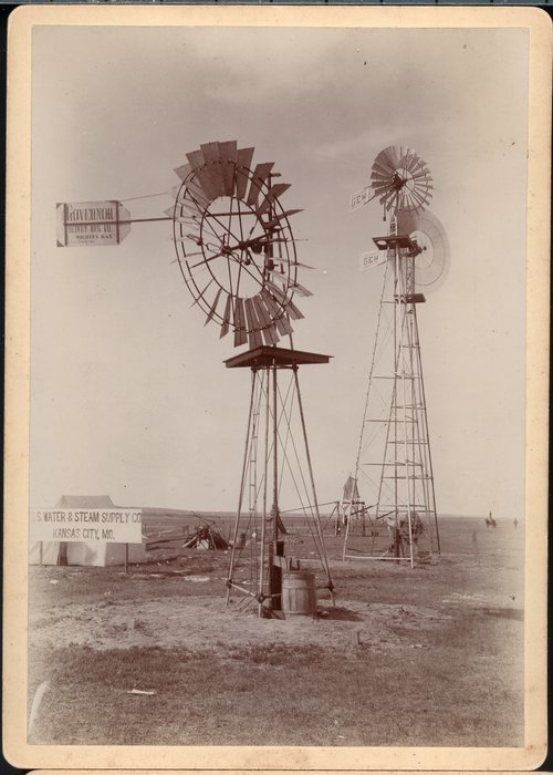 Irrigation and windmills in Kansas - Page