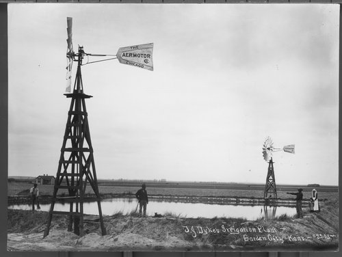 T.J. Dyke's irrigation plant in Garden City, Kansas - Page