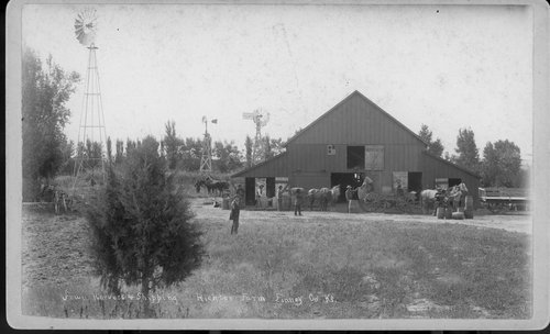 Richter farm at fruit harvest, Finney County, Kansas - Page