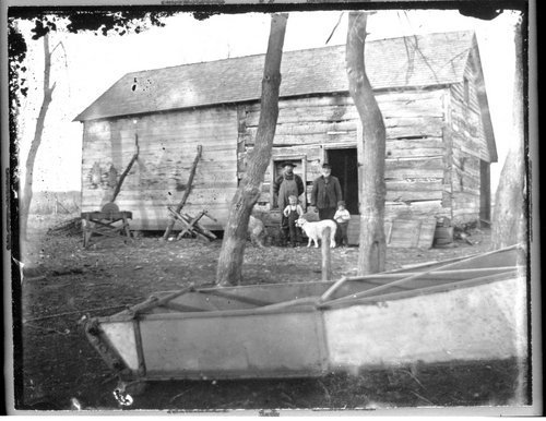 Humbargar log cabin, Saline County, Kansas - Page