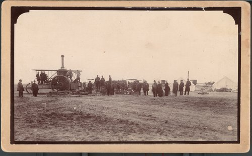 First steam plow in Garden City, Finney County, Kansas - Page