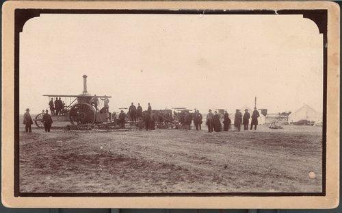 First steam plow in Garden City, Finney County, Kansas - Page