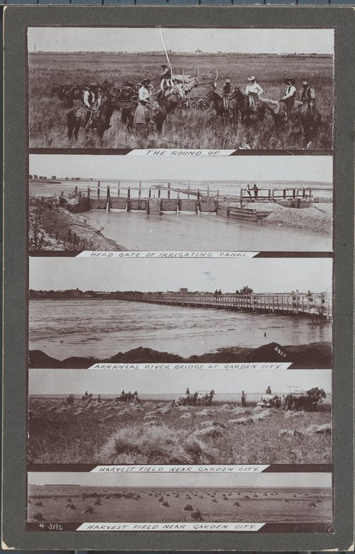 Scenes of prosperous times, Finney County, Kansas - Page