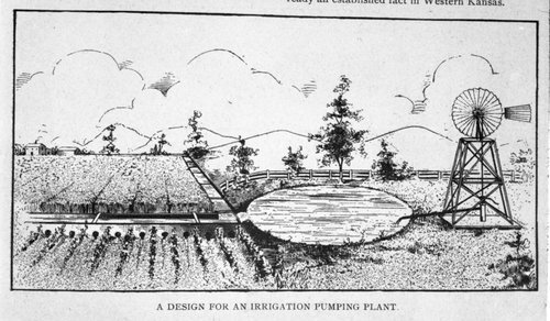 Irrigation scenes in Finney County, Kansas - Page