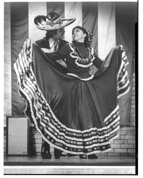 Mexican American dancers, Topeka, Kansas - Page