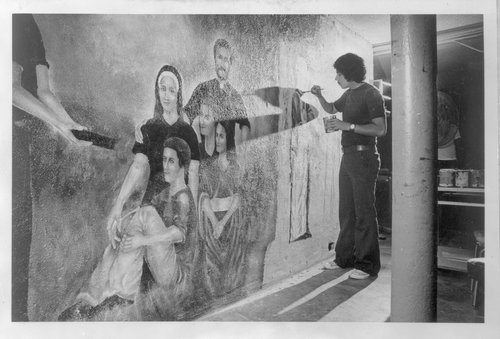 Mexican American mural, Topeka, Kansas - Page