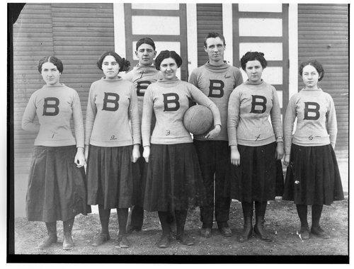 Girls' basketball team, Bushton, Kansas - Page