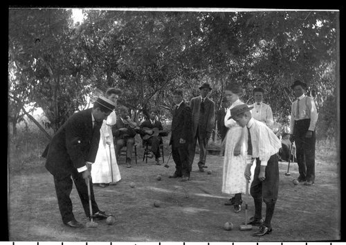 Croquet Game, Clay Center Kansas - Page