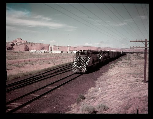 Atchison, Topeka & Santa Fe Railway Company's freight train, New Mexico - Page
