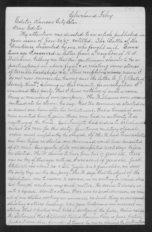 S. Shlesinger to Charles Cecil Howes - Page