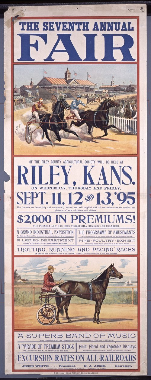 Seventh annual fair, Riley, Kansas - Page