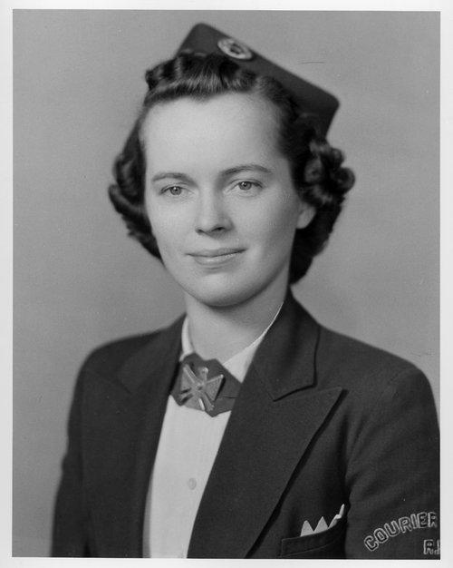 Betty Widen, Santa Fe Courier Nurse - Page