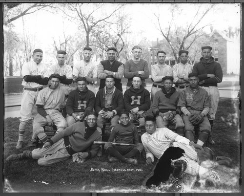 Haskell Institute baseball team