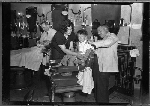 Barbershop, Lawrence, Kansas - Page