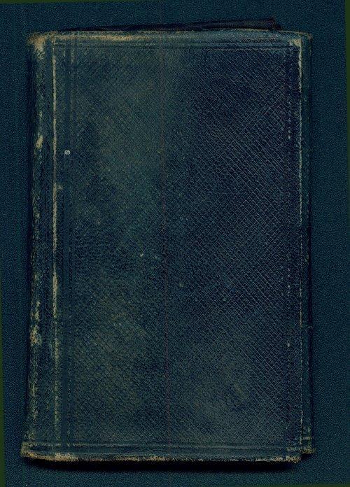 Carl Julius Adolph Hunnius diary - Page