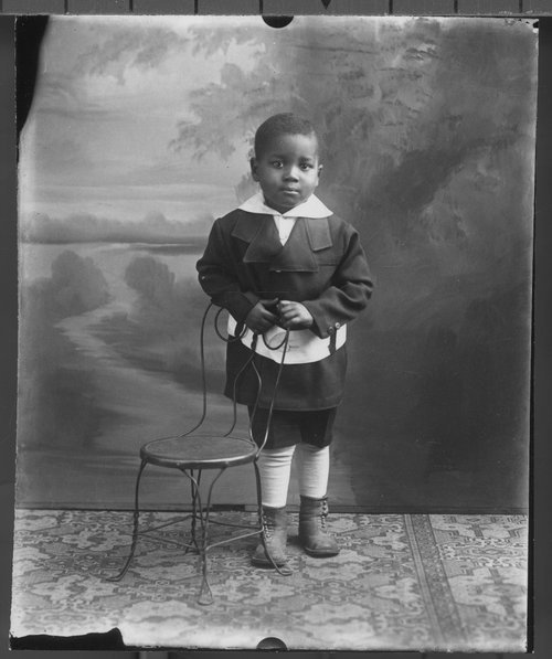 Unidentified boy - Page