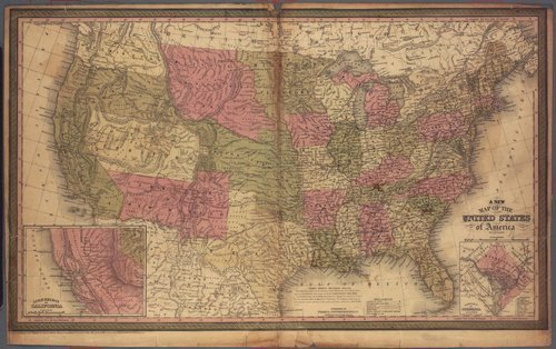 A new map of the United States of America - Page